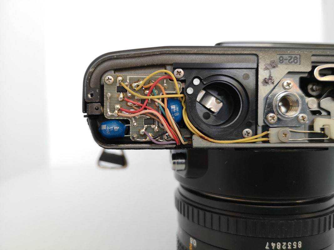 Minolta Capacitors - 678 Vintage Cameras